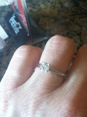 Gretchen's engagement ring