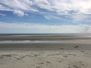 East Beach on St. Simons Island. Low tide.