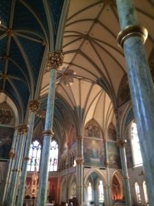 St. John's ceiling. Impressive!