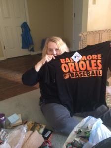 Orioles t-shirt