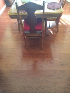 Dining room floor