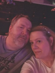 Us at The Who concert