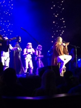 "Weird Al singing ""The Sage Begins"""