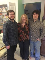 Gretchen and her sons