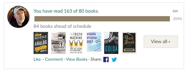 Goodreads-2018-Reading-Challenge-Results
