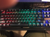 94-Moving LED Backlit RedDragon Mechanical Gaming Keyboard-Red-Green 11-1-17jpg