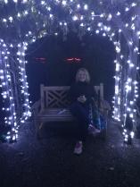 Gretchen-Stunning-Asheville-Bot-Gardens-Christmas-2017