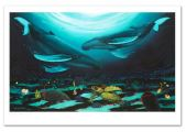 Wyland-Humpback-Dance-Signed-Numbered-Giclee-Canvas-Qart-Closeup-9-25-18